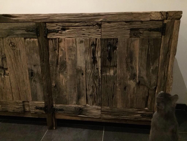 oud eiken dressoir