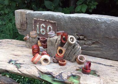 houten ringen