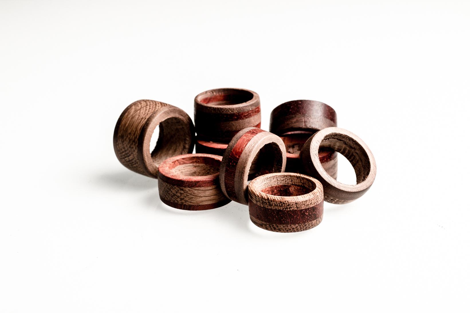 Favoriete Houten sieraden: handgemaakte ringen, kettinghangers en armbanden #NI69