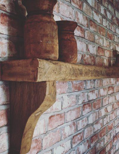oud eiken wandpank