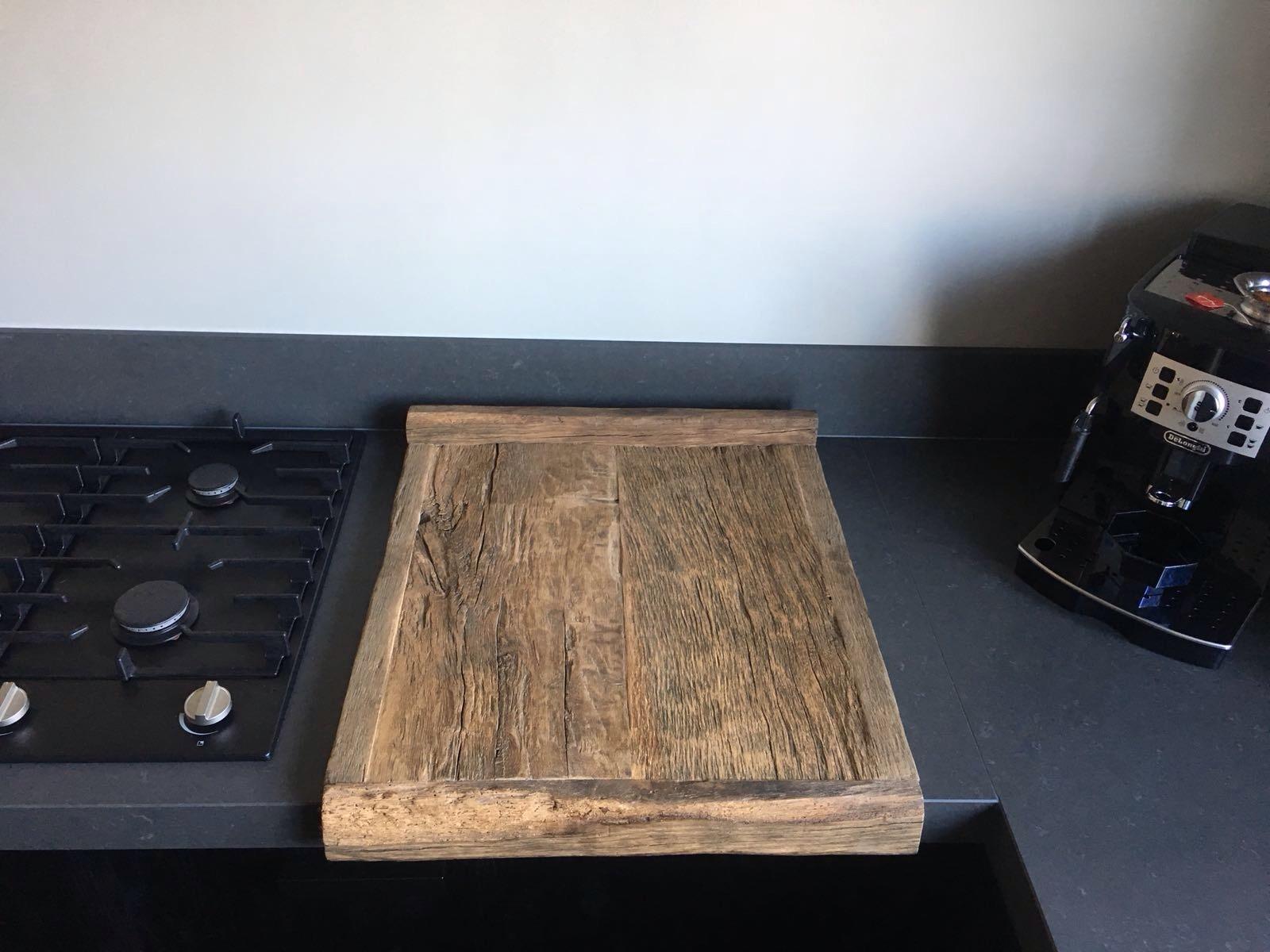 oud eiken snijplank
